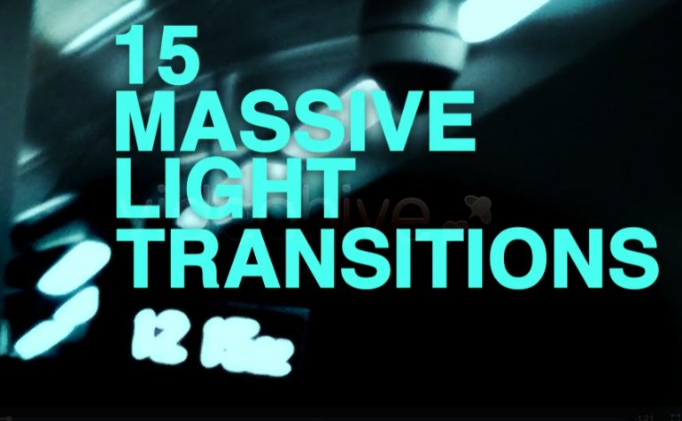 15 Massive Light Transitions Pack