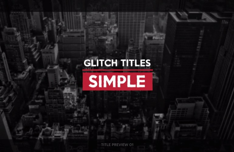 25 Urban Glitch Titles