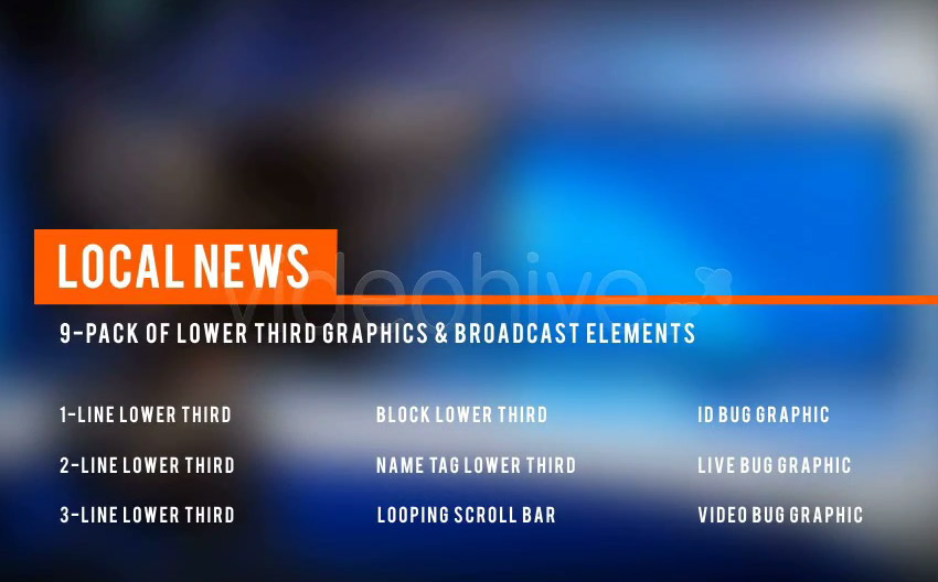 10 Best Local News Video Templates And Assets For Adobe