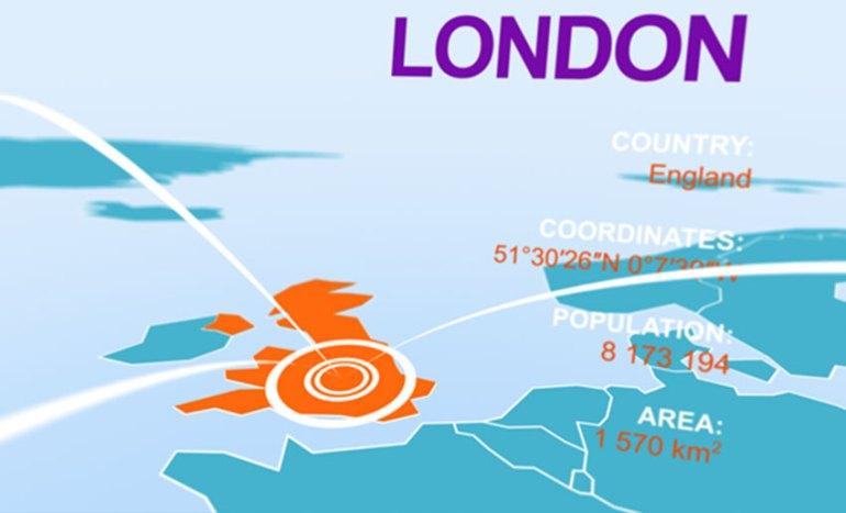 Infographics 3D Map Kit