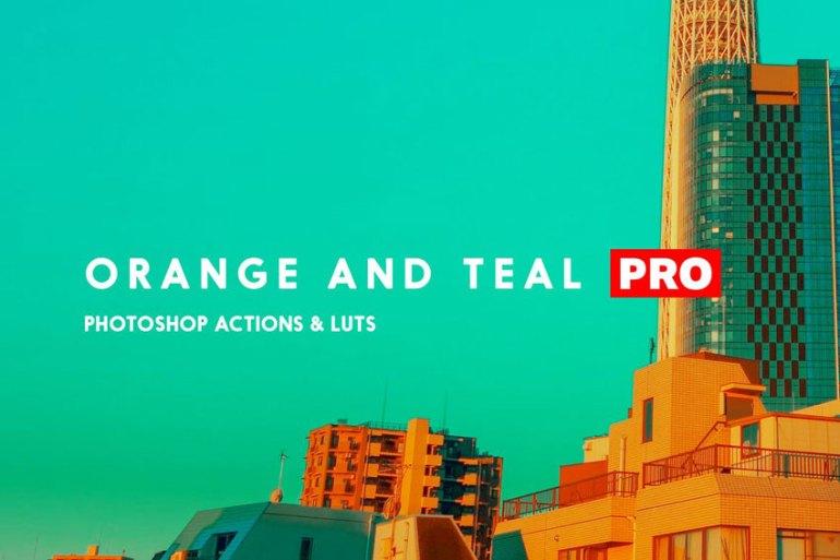 Orange and Teal Pro