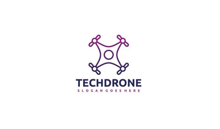 Tech Drone Logo