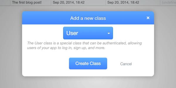 Add a User class
