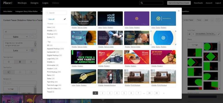 Placeit Blog Post Teaser Video Template Add Slide