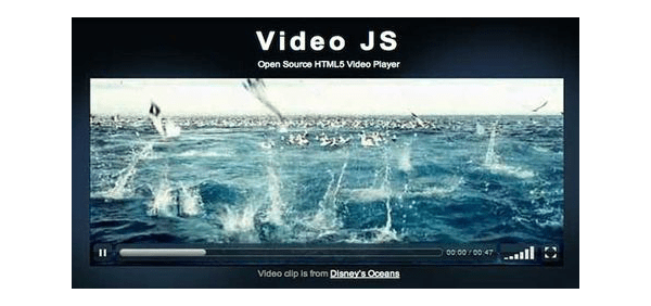 VideoJS Player