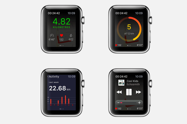 Apple Watch interface design