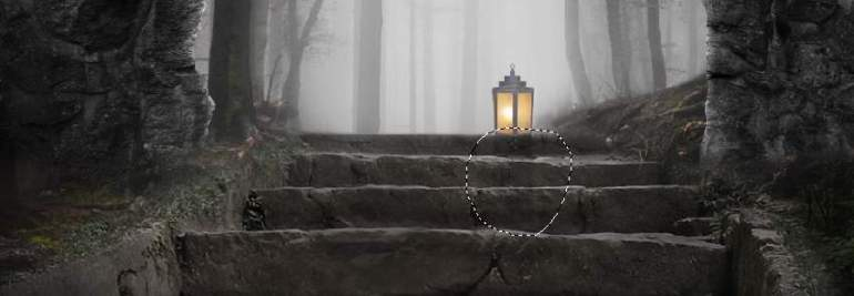 lantern shadow