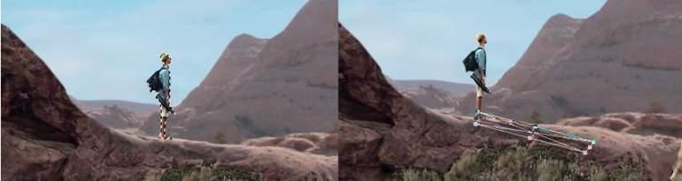 Photoshop Adjustment Layers - man shadow