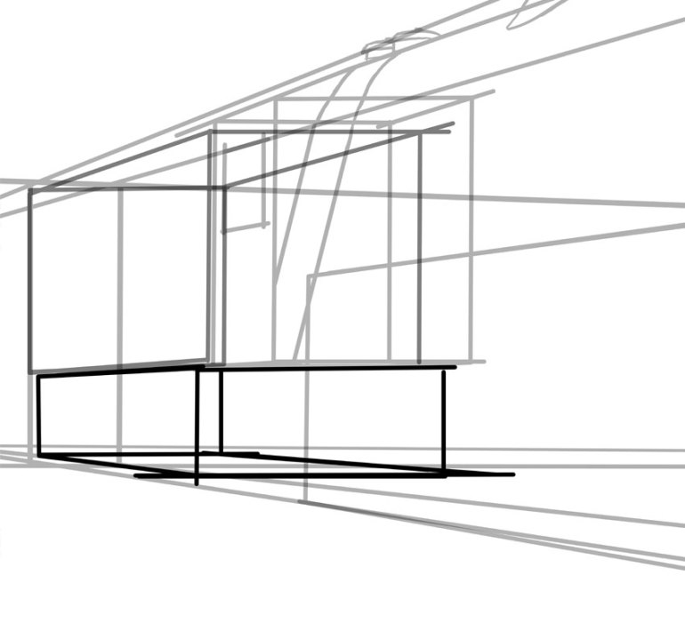 Simple box shapes will help you but once again think perspective