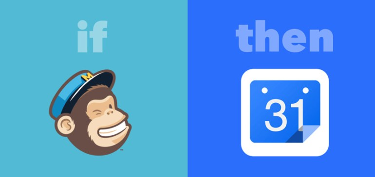 mailchimp to google calendar ifttt recipe