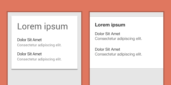 Typography on Android and iOS