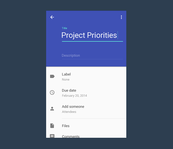 Official Material Design TextInputLayout implementation