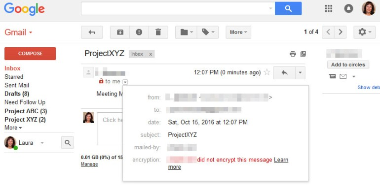 Emails sent with Gmail look like they came from another account