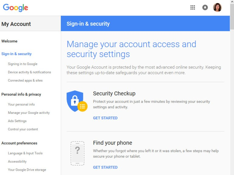 Gmail tutorials--Gmail security