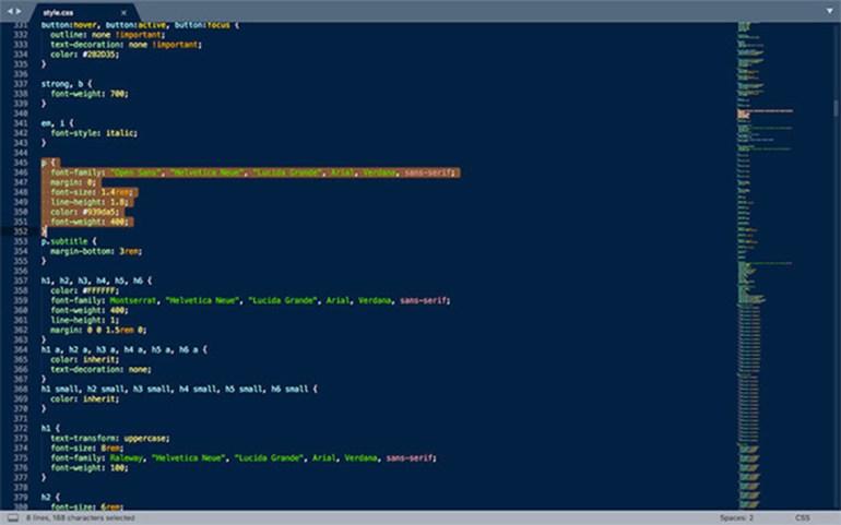 Editing CSS