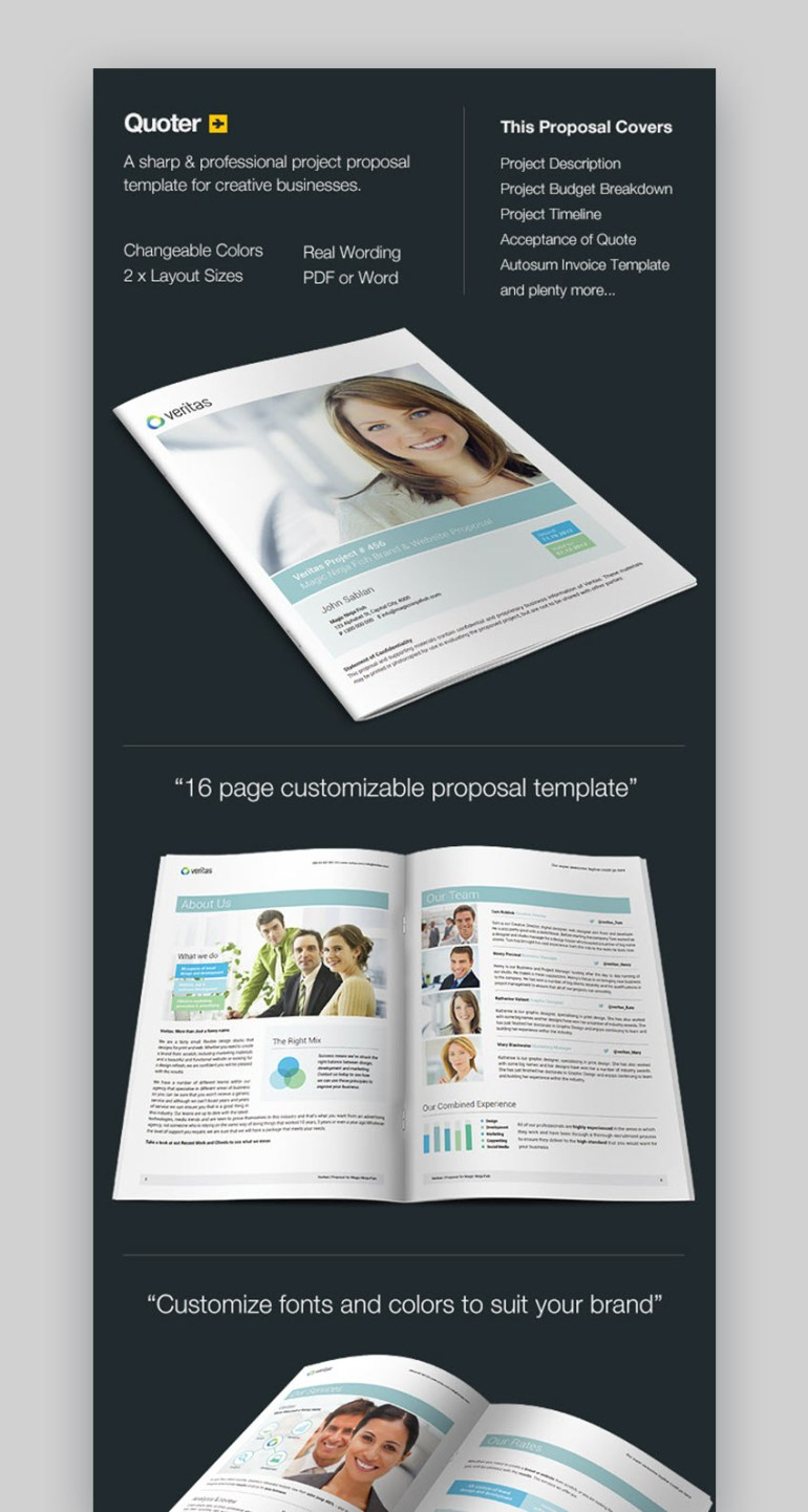 20 top graphic design branding project proposal templates www 101 quoter professional proposal template with invoice saigontimesfo