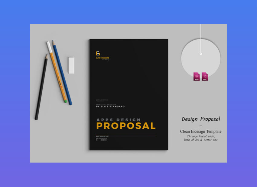 20 Top Graphic Design  Branding  Project Proposal Templates Apps Design Proposal   Great for Creatives