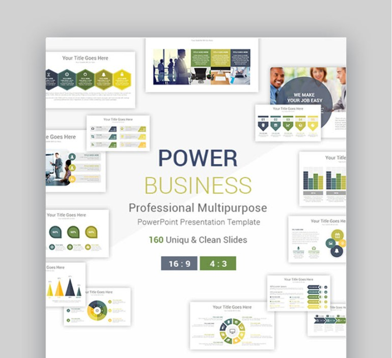18 cool powerpoint templates to make presentations in 2018 www 101 power professional business powerpoint presentation template wajeb Choice Image
