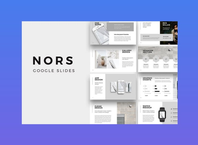 NORS Google Slides Template