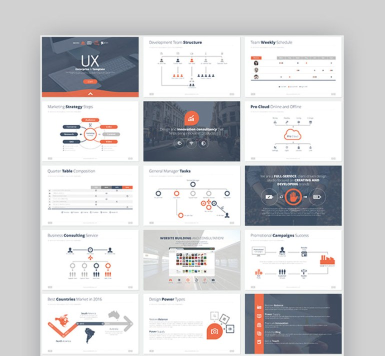 Business Strategy Google Slides Template