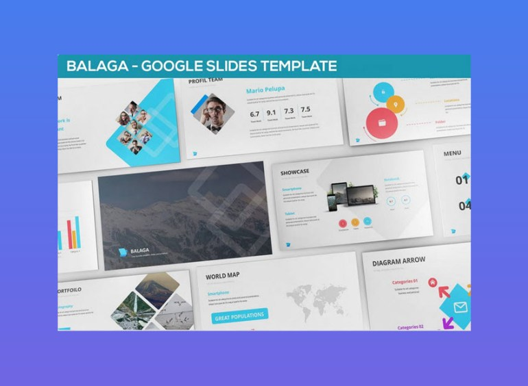 Balaga Google Slides Template