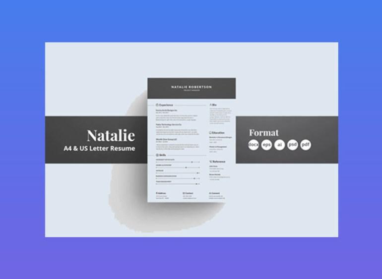 Natalie Resume