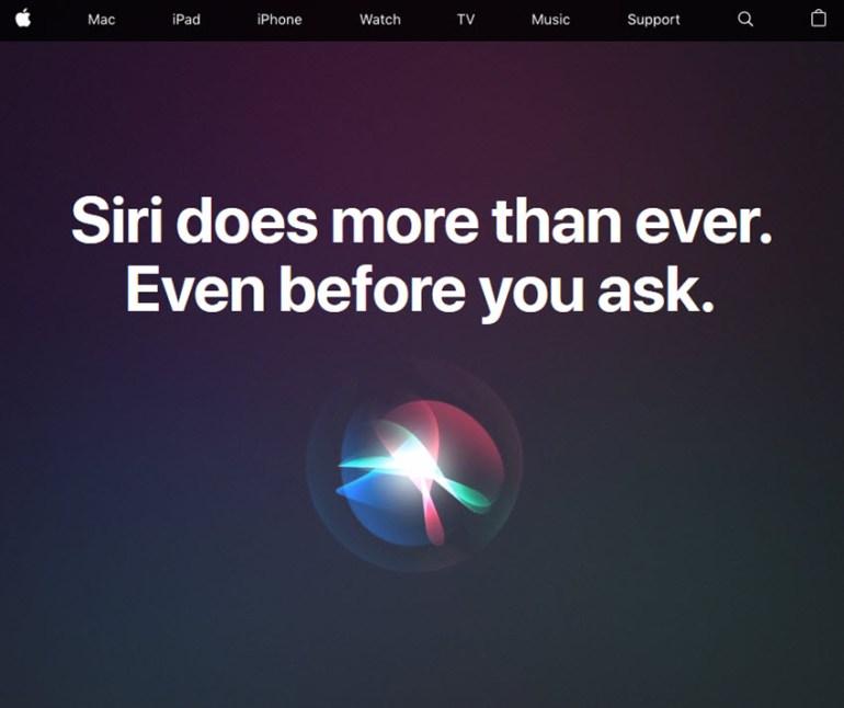 Siri personal assistant app