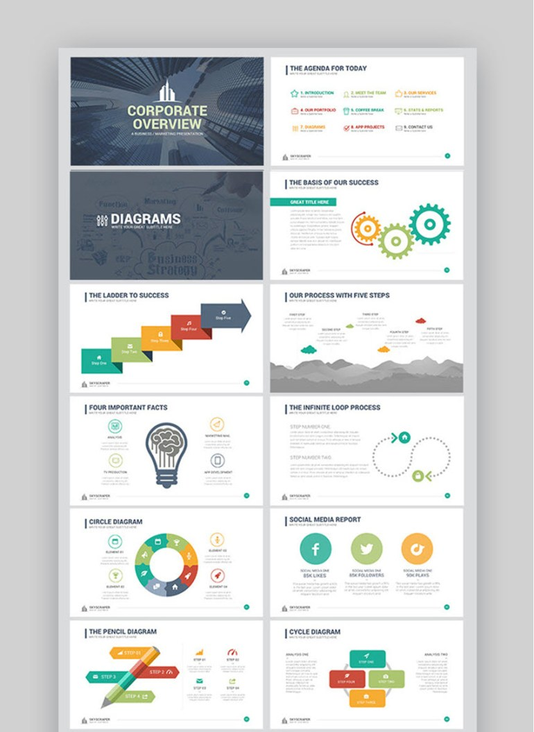 Corporate Overview Template