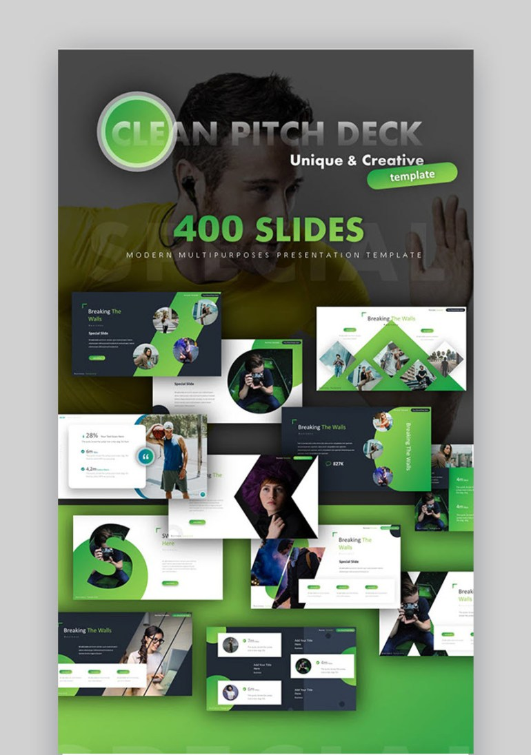 clean pitch deck