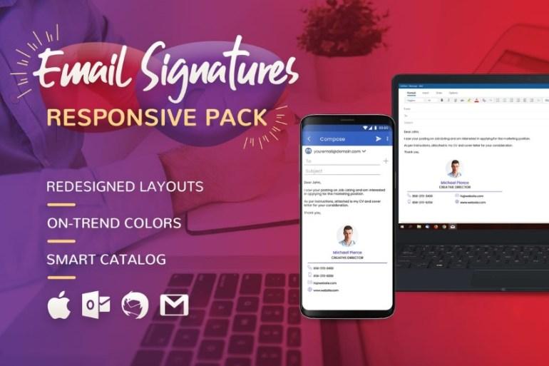 website promotion through email signatures