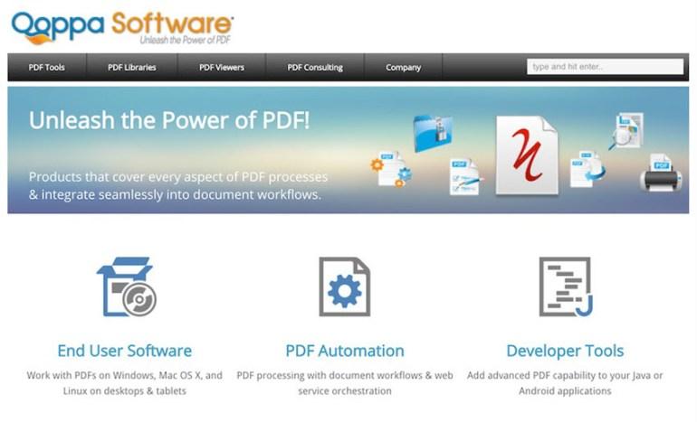 Qoppa PDF Studio PDF software