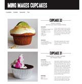 Ming makes cupcakes