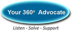 360 degree advocate logo
