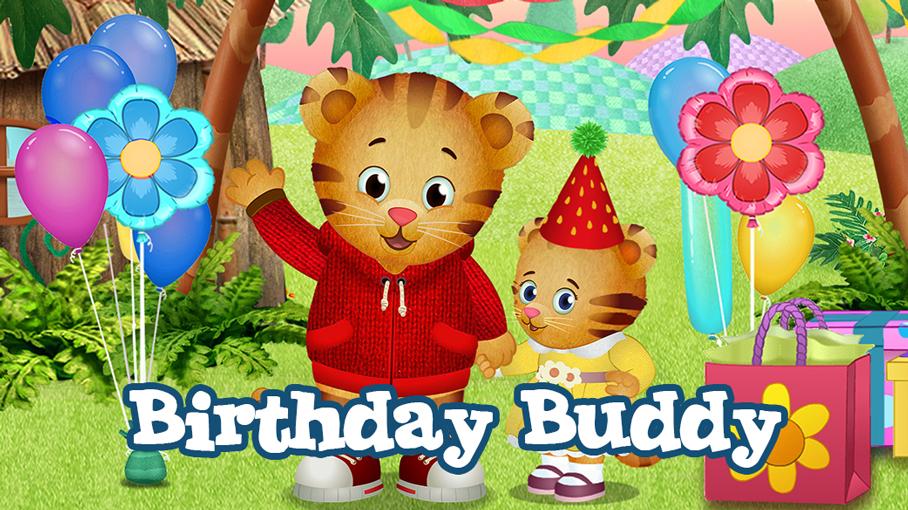 Birthday Buddy Daniel Tiger Pbs Kids