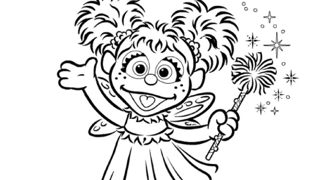 Abby Cadabby Coloring Page  Kids Coloring  PBS KIDS for Parents