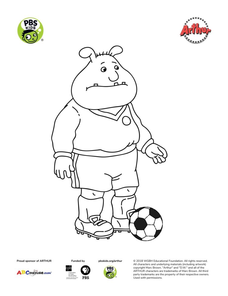 Binky Coloring Page Kids Coloring Pages Pbs Kids For Parents