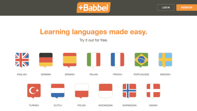 Babbel Kitted Out in a New Design