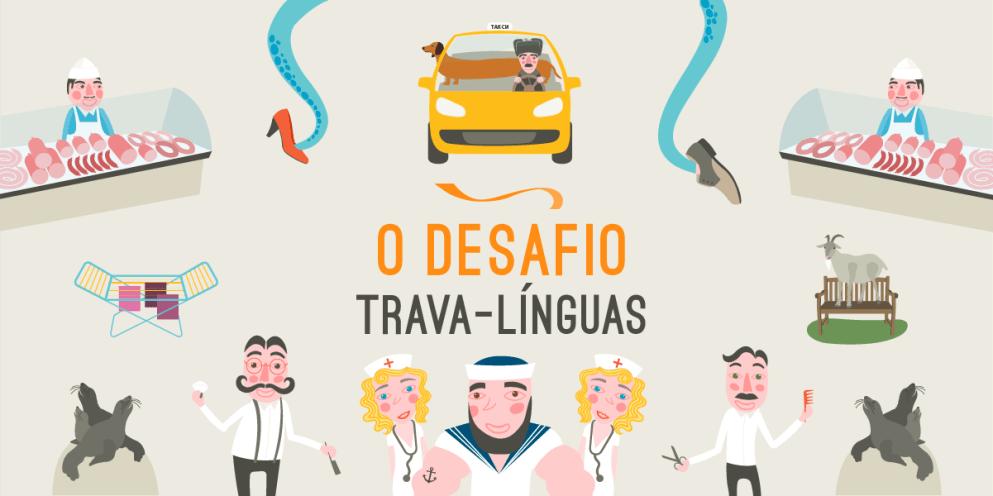 O desafio trava-línguas