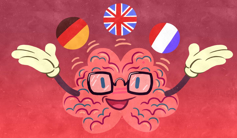 Tu cerebro se alegrará si aprendes idiomas