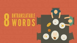 Beautiful Untranslatable Words From Around The World