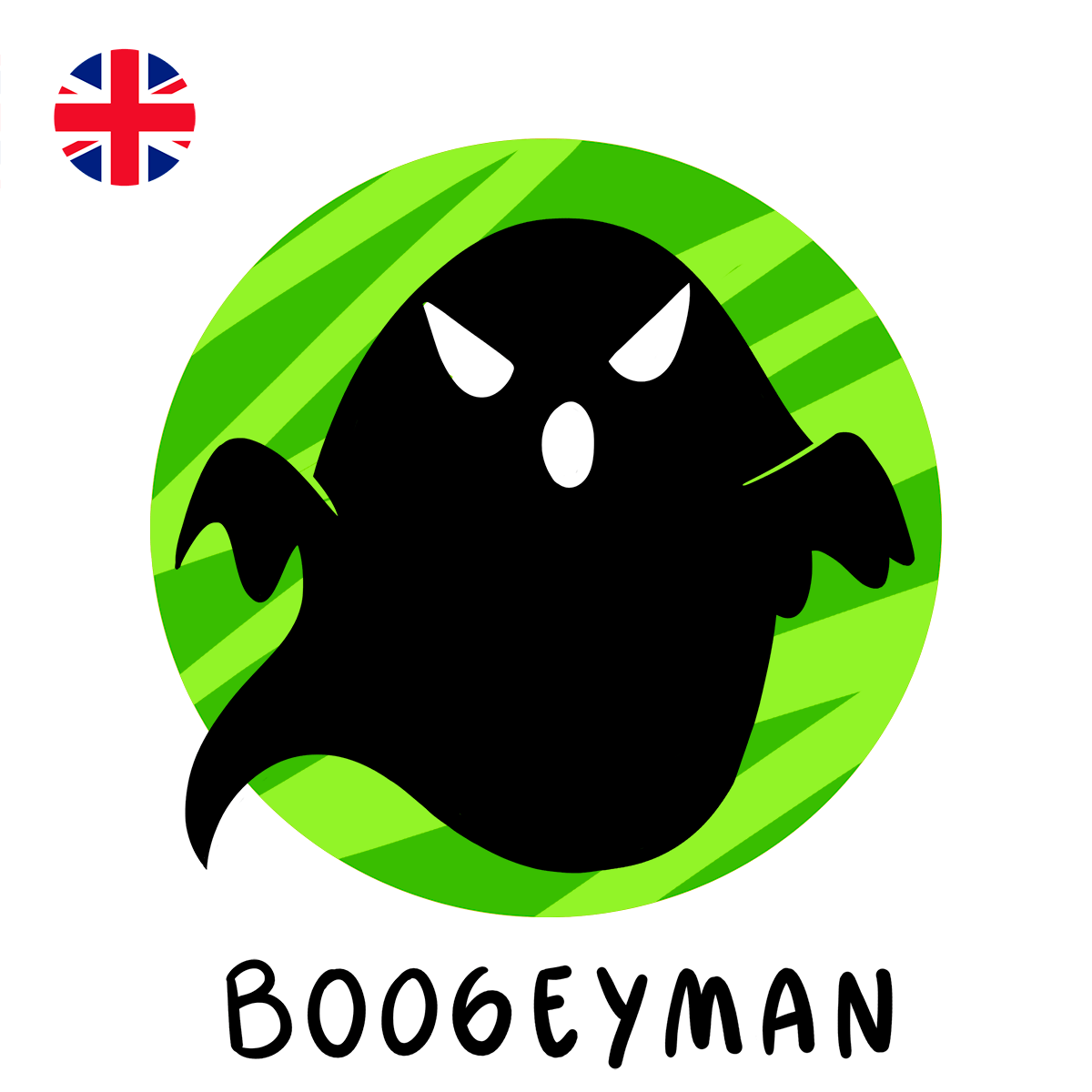 Boogeyman ghost illustration