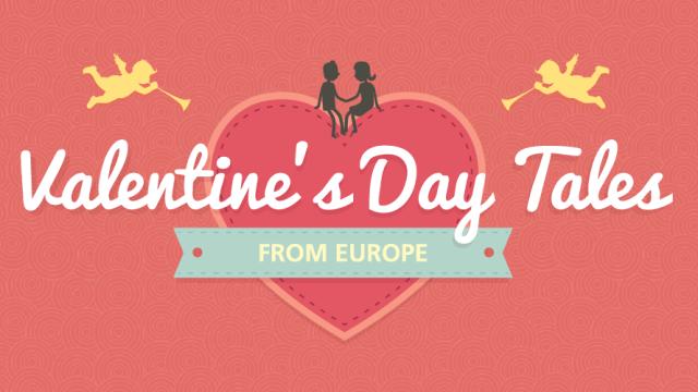 Histórias do Dia de São Valentim, o Dia dos Namorados internacional