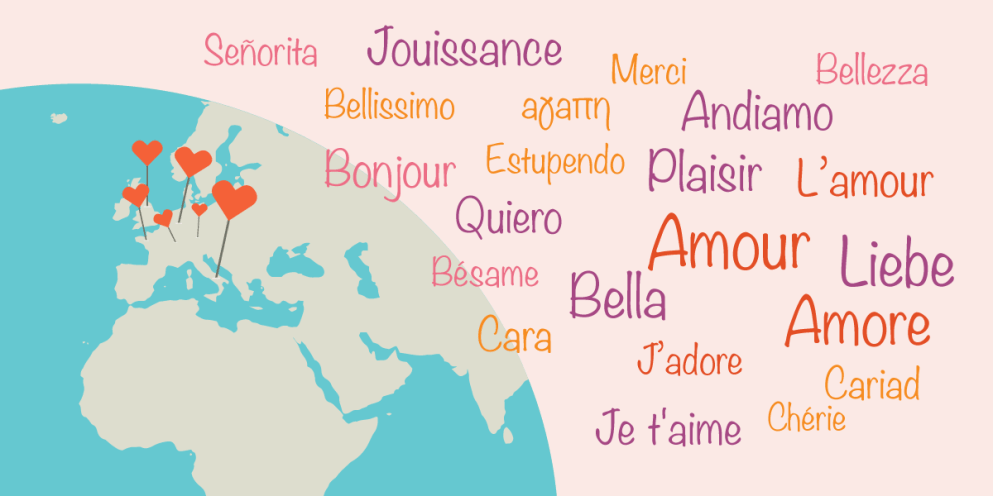 Imparare una lingua per amore: qual è la più sexy?