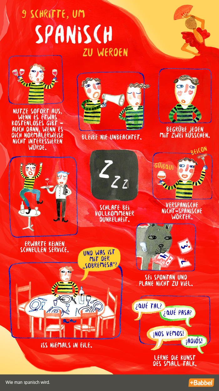 9 Schritte, um spanisch zu werden