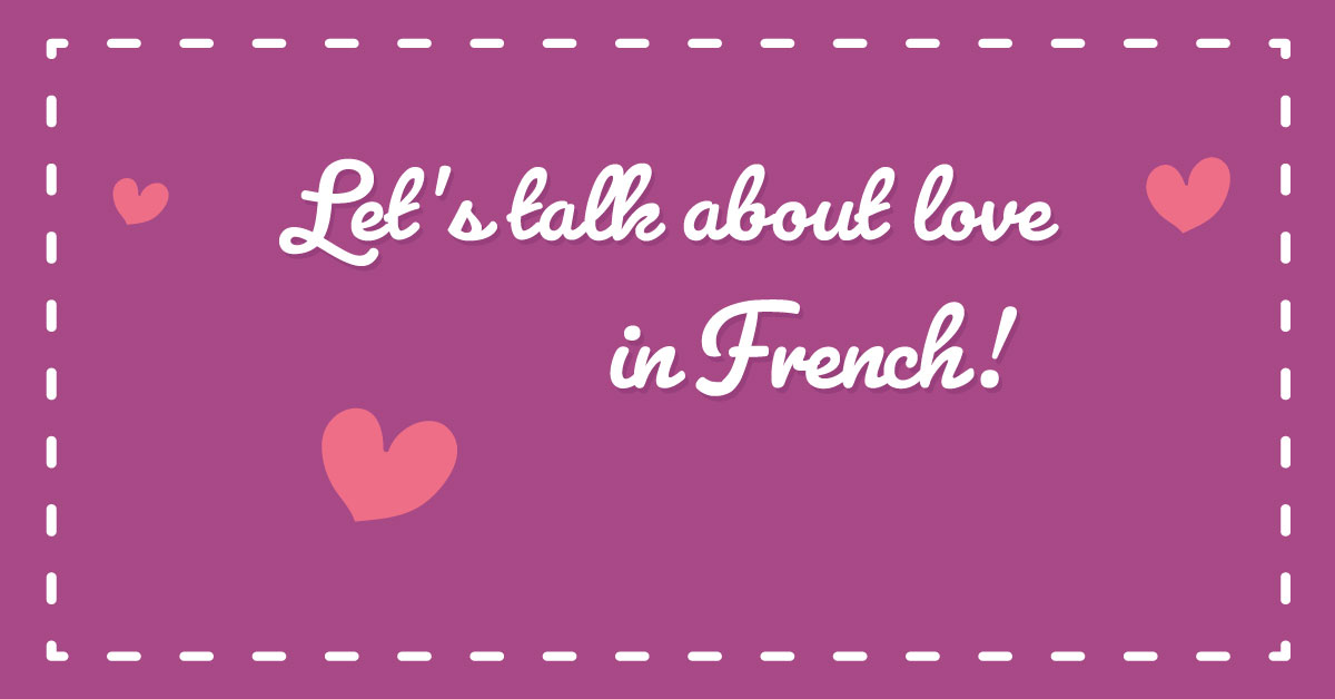 Images - How to say i like u in french