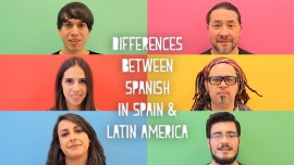 How Is Spanish In Spain Different From Spanish In Latin America?