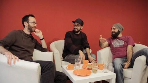 Kan tre helt vanliga killar lära sig franska under en arbetsvecka?