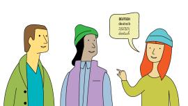 Deutschunterricht: Das lateinische Alphabet vermitteln