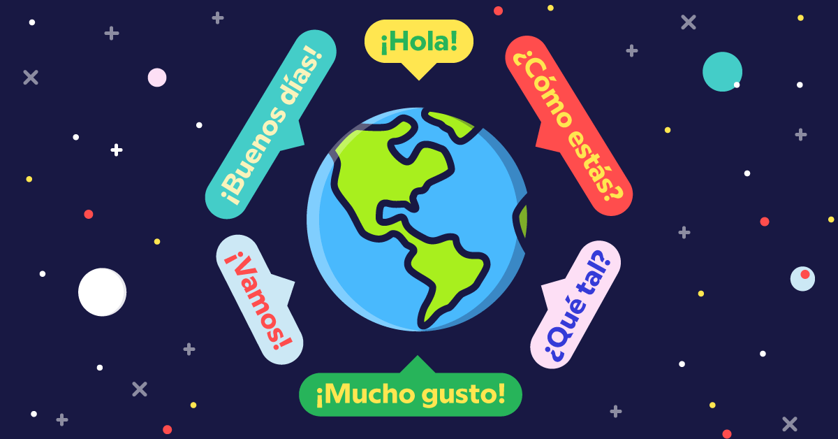 Why do colombians speak spanish