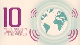 Die 10 meistgesprochenen Sprachen der Welt